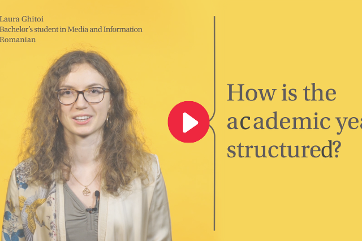 How is the academic year structured?